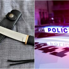 Incidentas Šalčininkų rajone: neblaivi moteris peiliu sužalojo vyrą