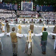 Šeštadienį Kaune – tradicinė dainų ir šokių šventė