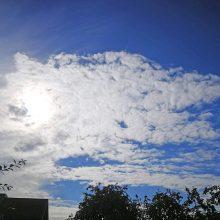 Orai Lietuvoje: kita savaitė bus šilta, bet lietinga