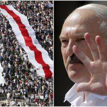 """A. Lukašenka: krizė Baltarusijoje bus išspręsta """"artimiausiomis dienomis"""""""