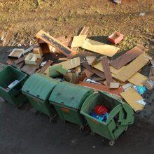 Informacija Klaipėdos miesto gyventojams: didžiosios atliekos bus surenkamos iš kiemų