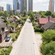 Prasideda Giedraičių gatvės rekonstrukcija – bus laikinų eismo draudimų