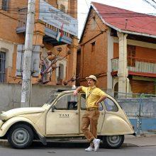 L. Pobedonoscevas ir A. Bružas leidosi į kelionę: vyrų esybei reikia iššūkių