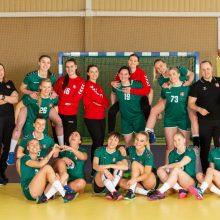 Lietuvos rankininkės sužinojo varžoves Europos čempionato atrankoje