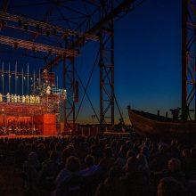 """Klaipėdoje pastatytas """"Skrajojantis olandas"""" – milijonams pasaulio operos gerbėjų"""
