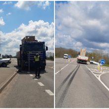 Tragiška avarija Utenos rajone: po sunkvežimio ir automobilio susidūrimo žuvo du žmonės