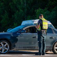 Pirmadienį per kelias valandas uostamiestyje išaiškinti penki neblaivūs vairuotojai