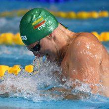 Du Lietuvos plaukikai buvo arti medalių Švedijoje