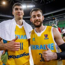 Per vieną metimą laimėję ukrainiečiai iškovojo vietą Europos čempionate