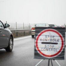 Klaipėdos apskrities patikros postuose – 42 protokolai už karantino reikalavimų pažeidimus