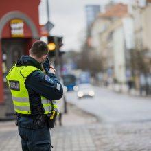 Pajūrio keliuose – sustiprinta greičio viršijimo kontrolė: pareigūnams įkliuvo 50 pažeidėjų