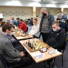 Šachmatų lygoje – dvigubas Kauno triumfas