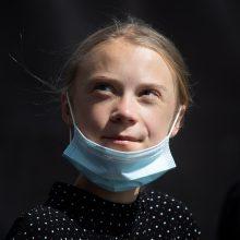 Švedijos klimato aktyvistei G. Thunberg suėjo 18 metų