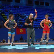 Turnyre Kijeve – bronzinė D. Domikaitytės tradicija
