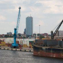 Klaipėdos uostas atmeta kaltinimus dėl taršos Kuršių mariose