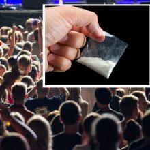 """Festivaliuose """"Galapagai"""", """"Betsafe Radistai"""", """"Sūpynės"""" narkotikai – pas 12 asmenų"""