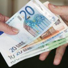 Minimali alga kitąmet turėtų siekti 430 eurų