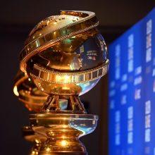 """""""Auksiniai gaubliai"""" pradeda pandemijos eros Holivudo apdovanojimų sezoną"""
