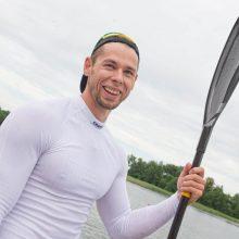 Baidarininkas M. Maldonis tęsia kovą dėl medalių Tokijuje