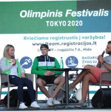 Iš Tokijo grįžę A. Glebauskas ir V. Andrulytė įvertino savo olimpinius debiutus
