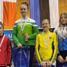 Lietuvėms – visų prabų medaliai Šiaurės šalių fechtavimo čempionate