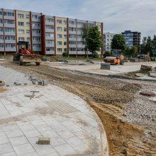 Klaipėdos daugiabučių kiemų sutvarkymui – dar 3,6 mln. eurų