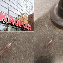 """Įspėja: prekybos centro """"Akropolis"""" tualete – mirtinai pavojingas radinys"""