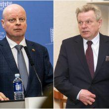 Smuko S. Skvernelio populiarumas, J. Narkevičius – nepopuliariausias politikas