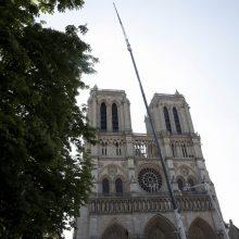 """Virš Paryžiaus Dievo Motinos katedros bus išskleistas """"milžiniškas skėtis"""""""