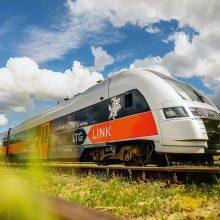 Kitąmet startuos naujas traukinys iš Vilniaus į Varšuvą