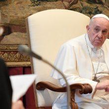 Popiežius priėmė Baltarusijos katalikų vadovo T. Kandrusevičiaus atsistatydinimą