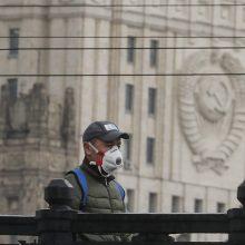 Rusijoje – per 29 tūkst. naujų COVID-19 atvejų, mirė 563 pacientai