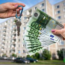 Vyriausybė – už privalomą būsto nuomos registravimą