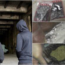 Klaipėdos policija baigė tyrimą dėl narkotikus platinusių nepilnamečių grupuotės