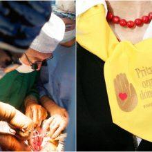 Pernai organų donorais sutiko būti daugiausiai žmonių per nepriklausomybės metus
