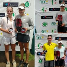 Kenijoje – trigubas Lietuvos tenisininkų triumfas