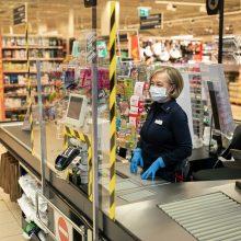 Per antrąjį karantiną trumpės parduotuvių darbo laikas: ką svarbu žinoti?