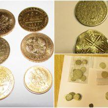 Baltarusis kontrabanda į Lietuvą įvežė senovinių monetų: seniausios – iš XIV amžiaus