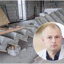 Pajūryje statomo aplinkos ministro namo tyrimo atsakymų dar reikia palaukti