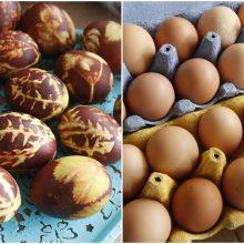 Klaipėdiečiai Velykų stalui ieško ypatingų kiaušinių