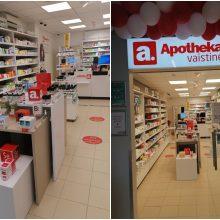 """Klaipėdoje atidaryta antroji """"Apotheka"""" vaistinė fokusuosis į aptarnavimo ir produktų kokybę"""