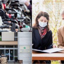 Gerina paslaugų prieinamumą: Vilniaus savivaldybei perduoti Senjorų socialinės globos namai