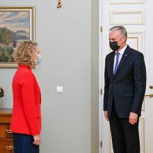 Prezidentas: A. Armonaitė – energinga ir motyvuota pokyčiams