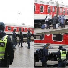 Klaipėdos traukinių stotyje – pareigūnai: jau šiandien vykdė asmenų patikras