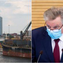 J. Narkevičius ketina skirti A. Lataką Klaipėdos uosto vadovu, aiškinasi interesus