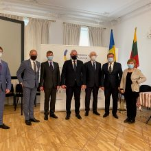 Klaipėdos merui – Ukrainos ambasadoriaus Lietuvoje apdovanojimas
