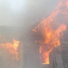Ugniagesiai gelbėtojai: kuo reikia pasirūpinti, kad nekiltų gaisras?