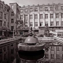 Atgimė beveik keturis dešimtmečius tylėjęs Kauno radijo gamyklos fontanas