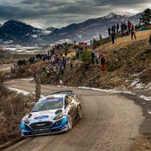 Trečioji Monte Karlo WRC diena: D. Jocius jaučiasi vis komfortabiliau
