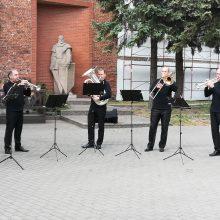 Klaipėdos gatvėse – dainos ir muzikos garsai